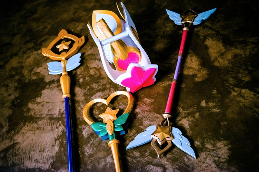 Watch Beautiful Star Guardian Cosplays