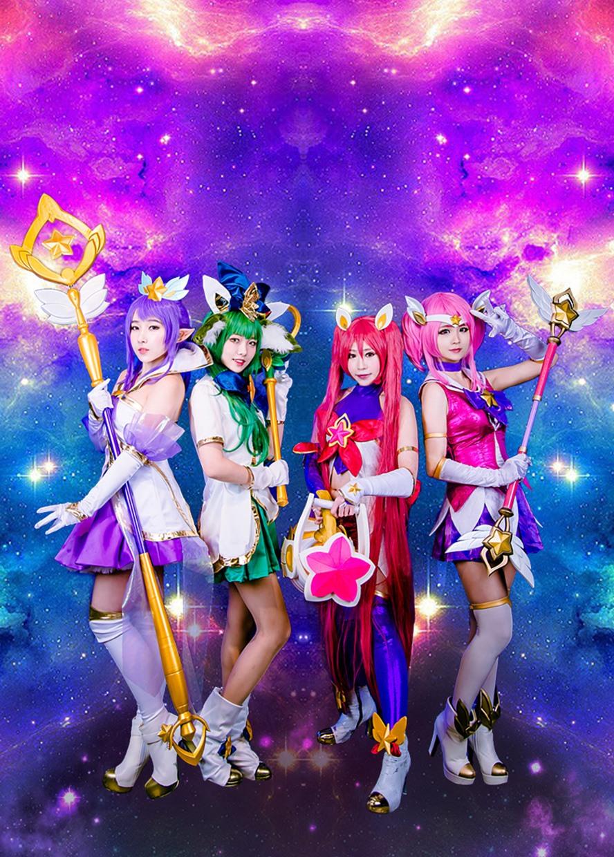 Watch Beautiful Star Guardian Cosplays