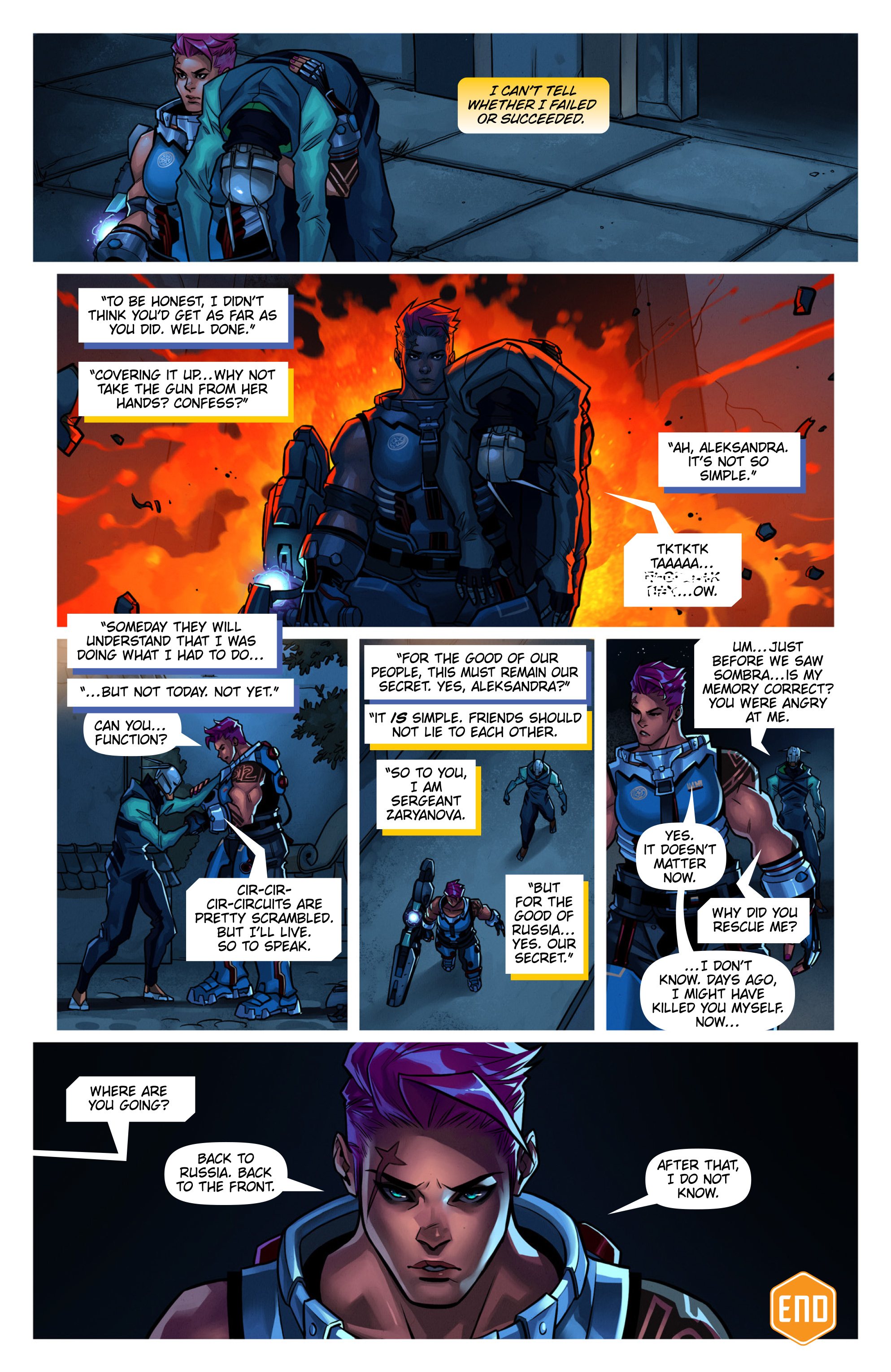 Overwatch Digital Comic Searching - Page 12