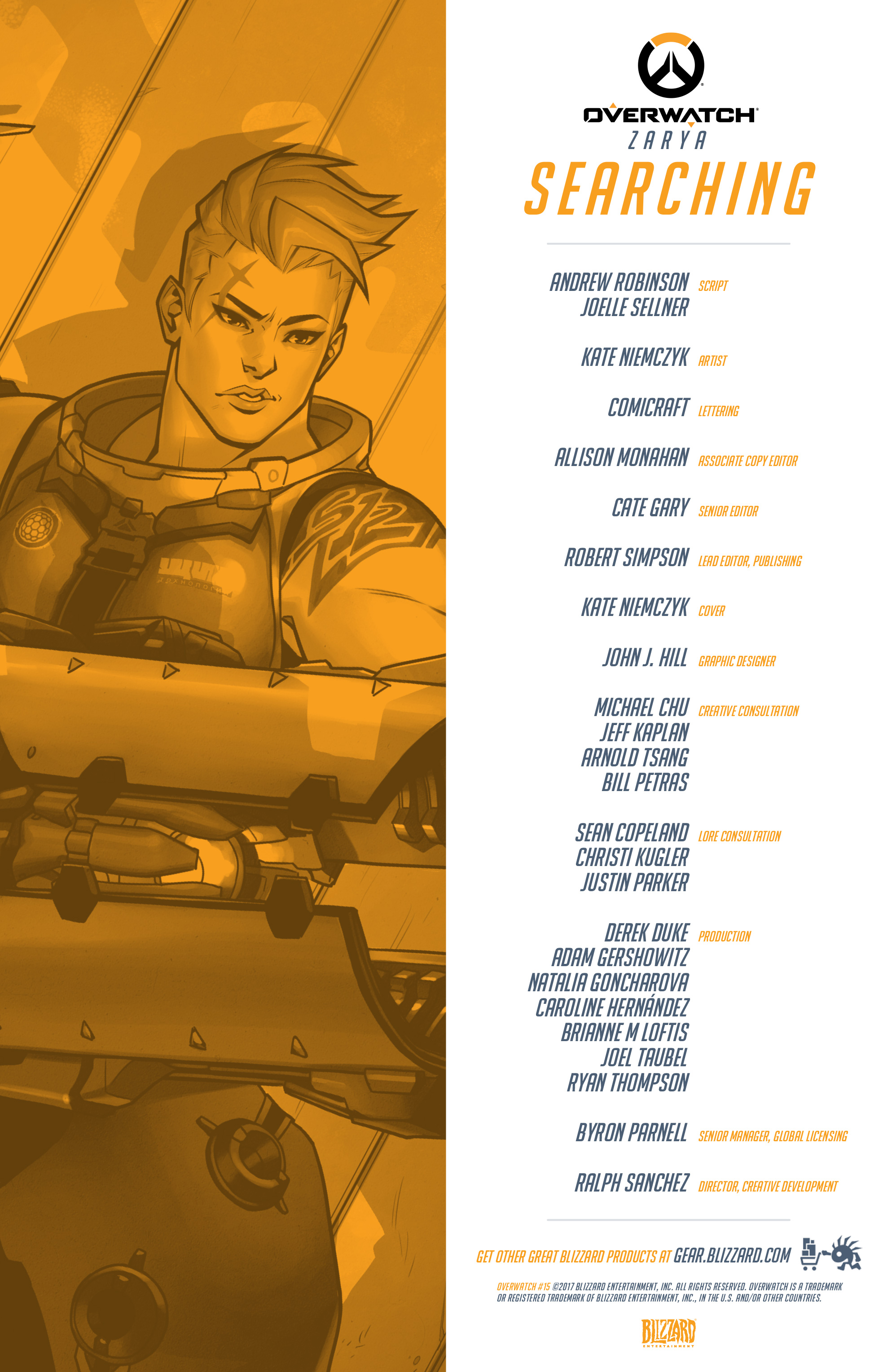 Overwatch Digital Comic Searching - Page 2
