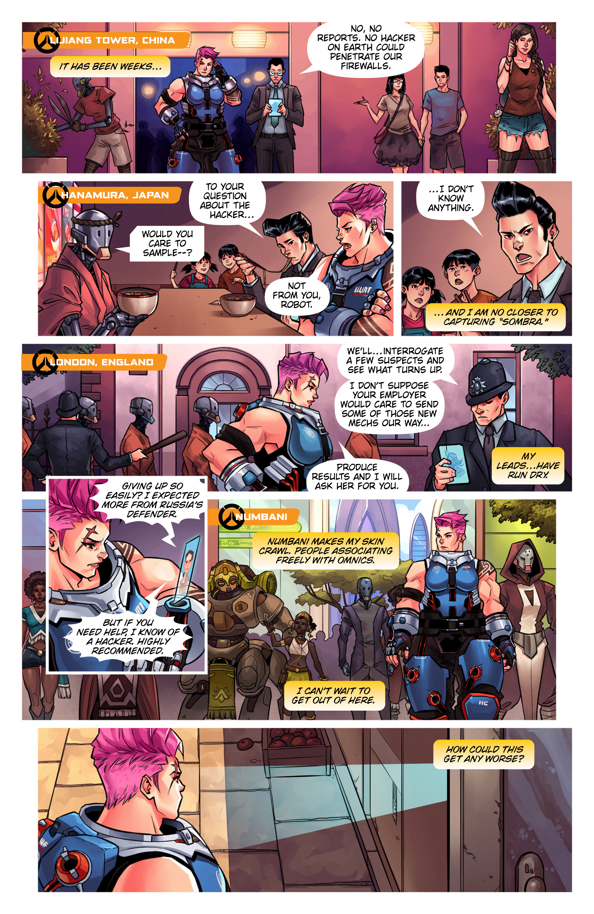 Overwatch Digital Comic Searching - Page 4