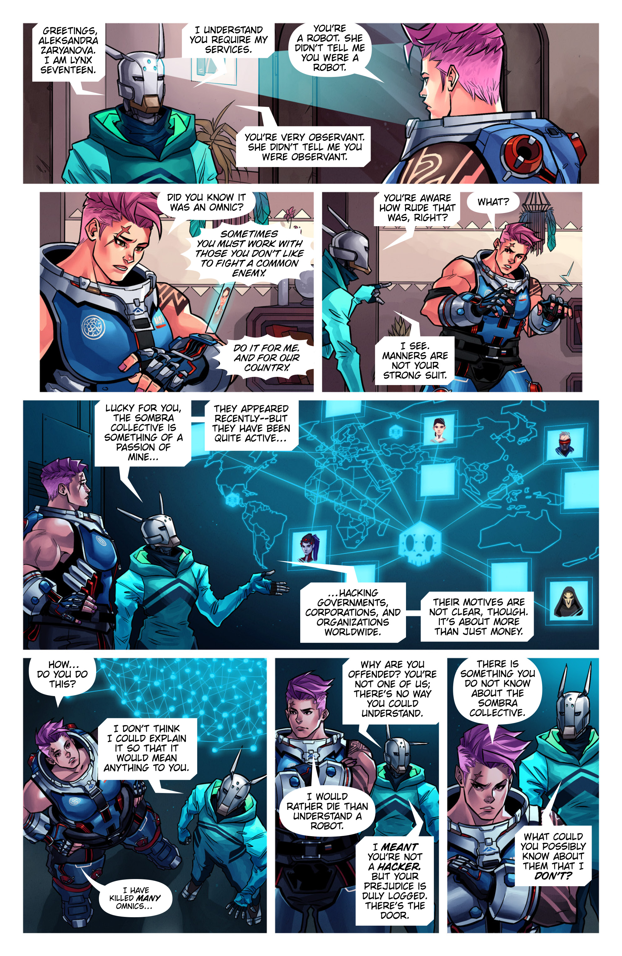 Overwatch Digital Comic Searching - Page 5