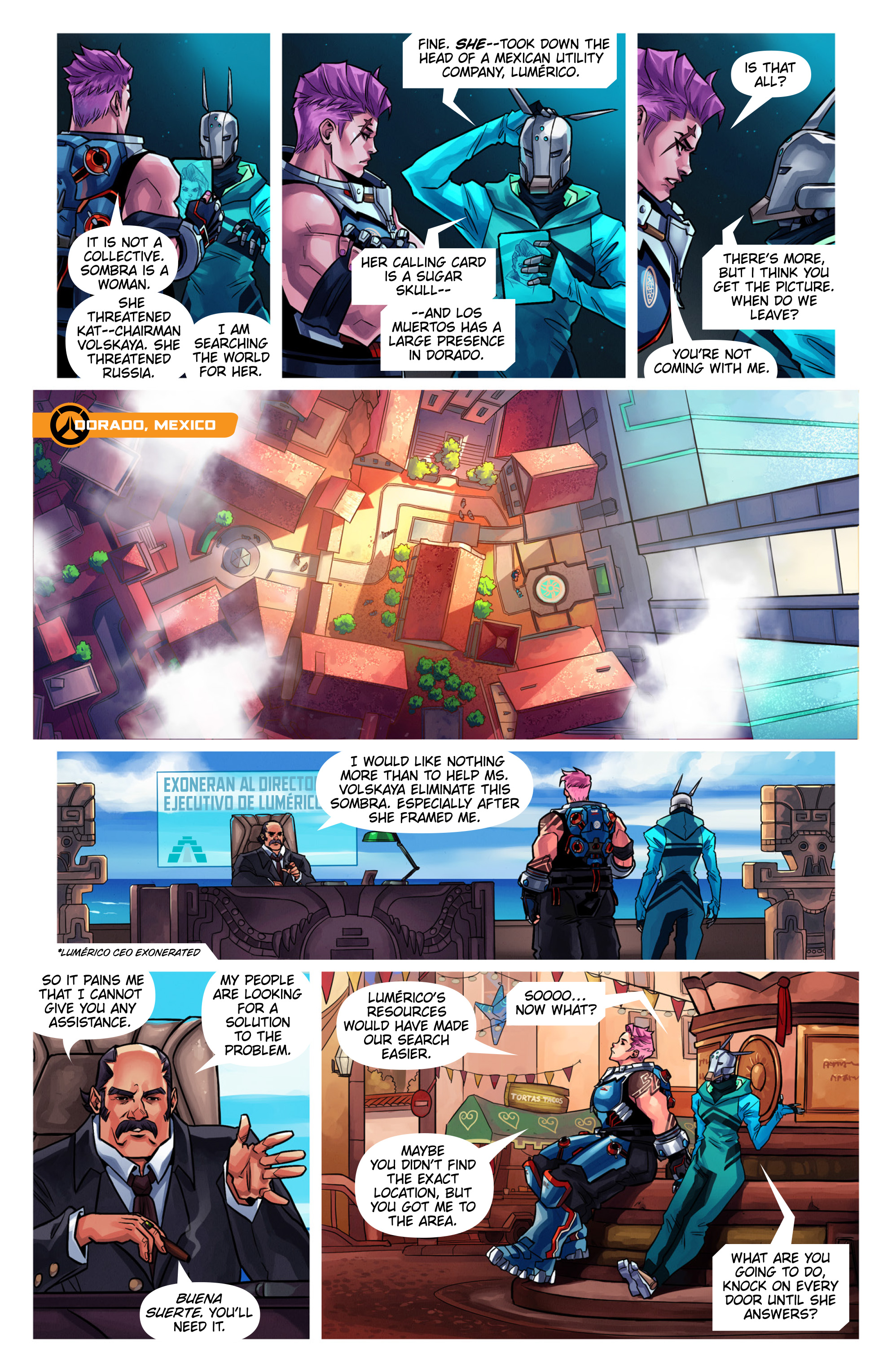 Overwatch Digital Comic Searching - Page 6