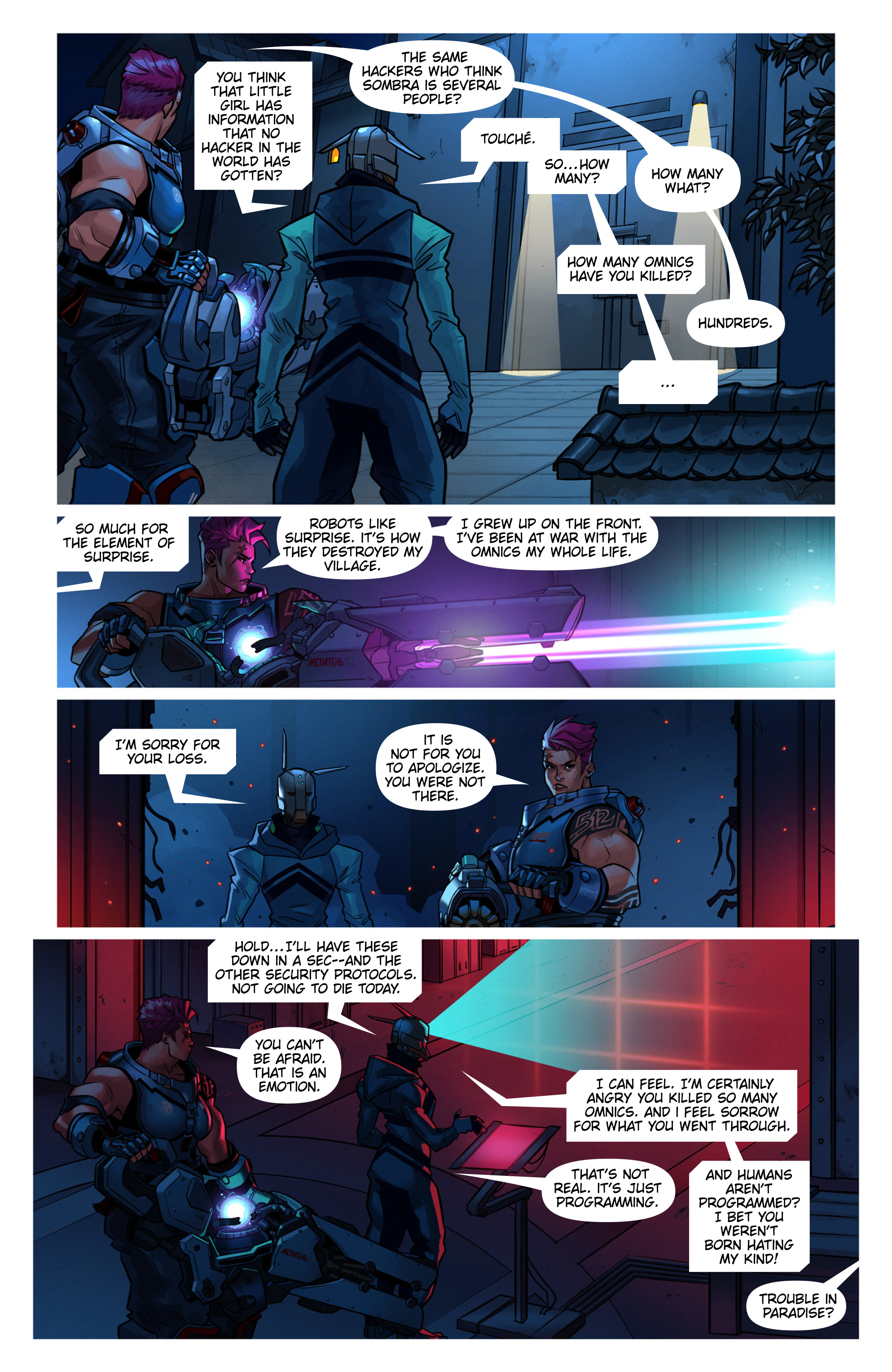 Overwatch Digital Comic Searching - Page 8