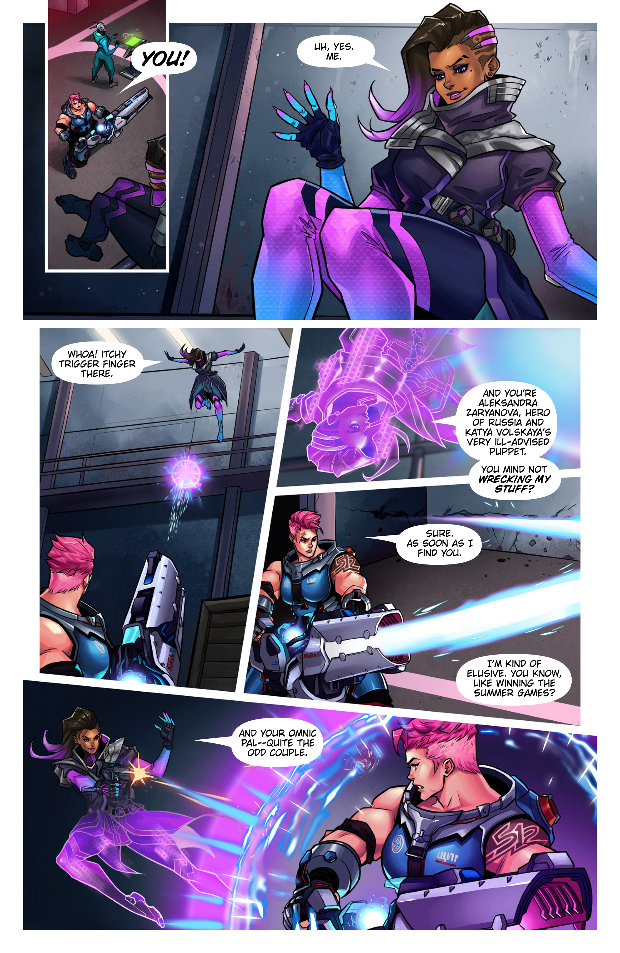 Overwatch Digital Comic Searching - Page 9
