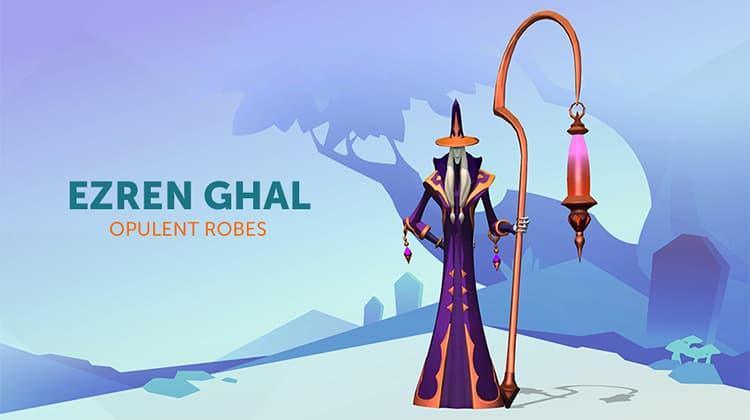 Ezren Ghal Opulent Robes
