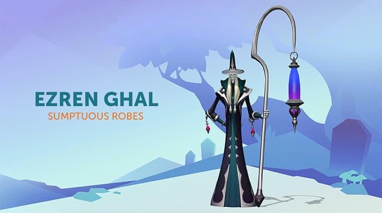 Ezren Ghal Sumptuous Robes