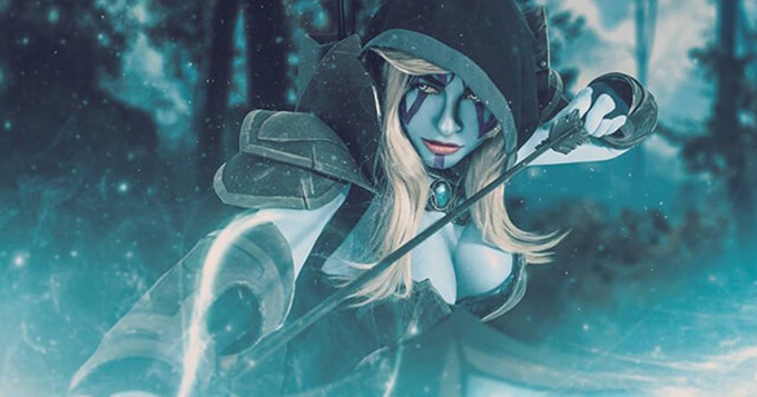 Beautiful Dota 2 cosplays by Russian cosplayers 2