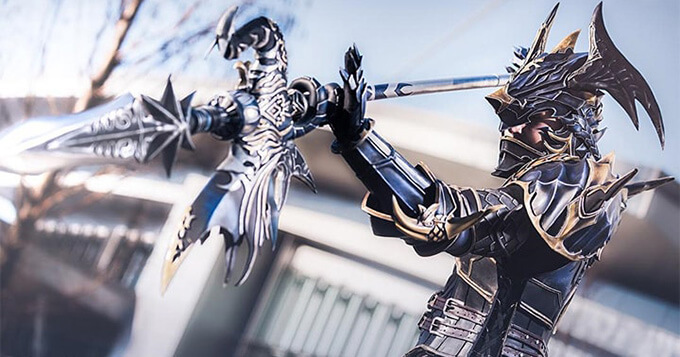 Gorgeous FFXIV Dragoon Cosplay by mintyfreshtea 2