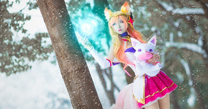 Beautiful Star Guardian Ahri Cosplay by Dong Dong Guai 3