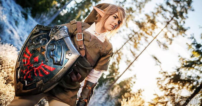 Here are beautiful Legend of Zelda cosplays by Sophie Riis 3