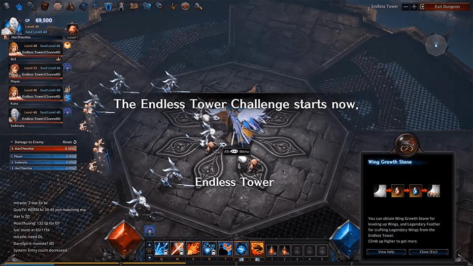 MU Legend: Endless Tower Basic Guide 1