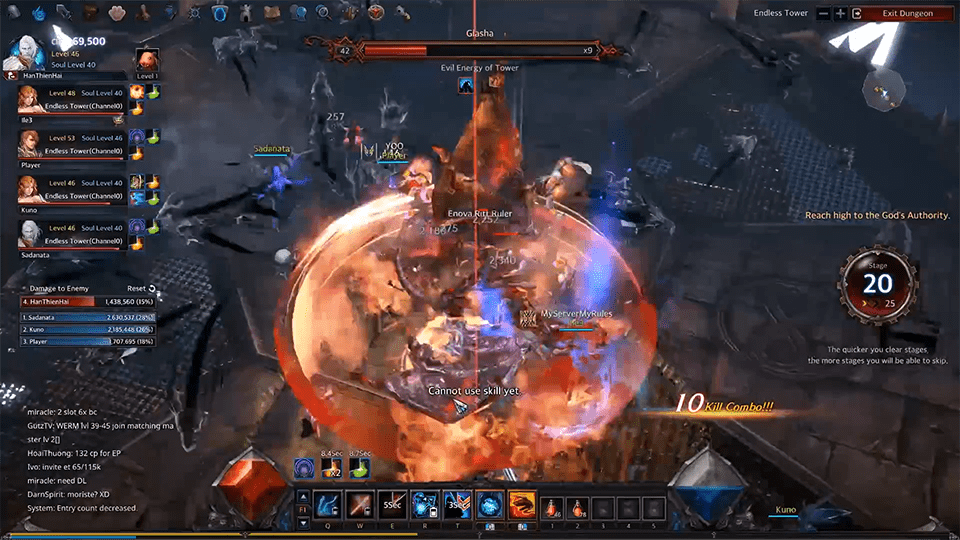 MU Legend: Endless Tower Basic Guide - Image