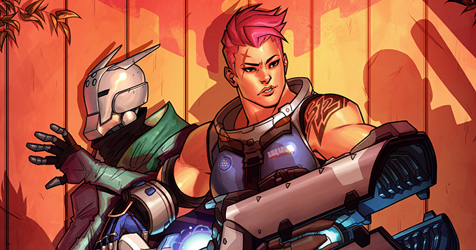 Searching Is Newest Overwatch Digital Comic