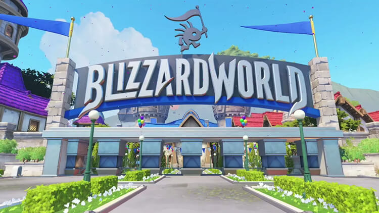 Overwatch new map Blizzard World