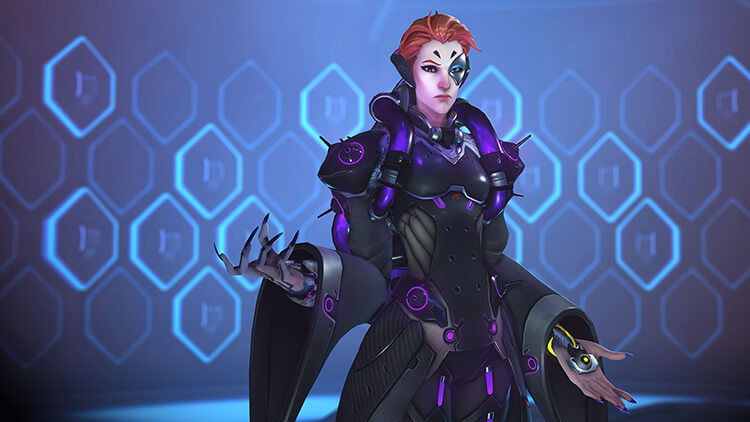 Overwatch new hero Moira - Screenshot 1