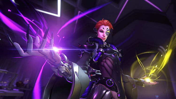 Overwatch new hero Moira - Screenshot 2