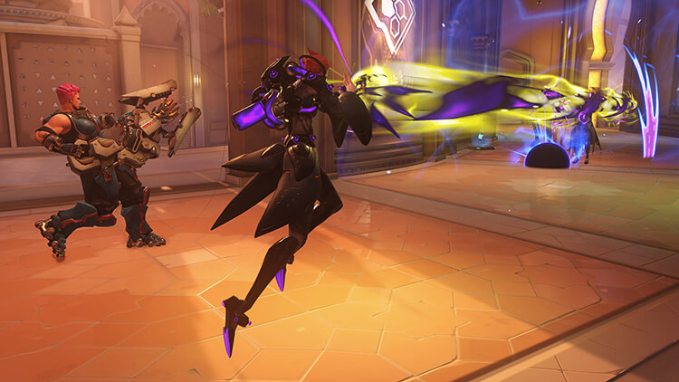 Overwatch new hero Moira - Screenshot 3