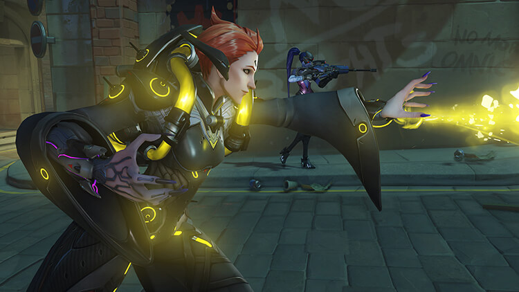 Overwatch new hero Moira - Screenshot 4