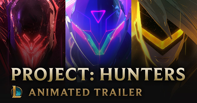 League of Legends: PROJECT: Hunters Animated Trailer