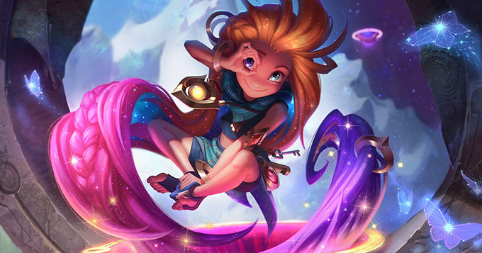 League of Legends reveals new champion Zoe 1