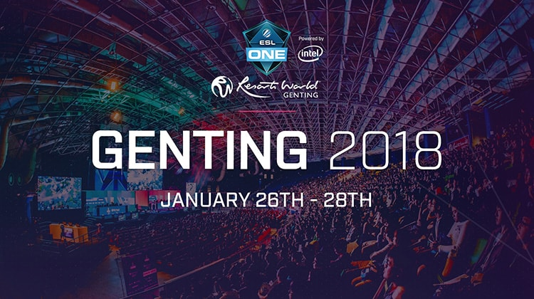 Take a closer look at the teams invited to ESL One Genting 2018