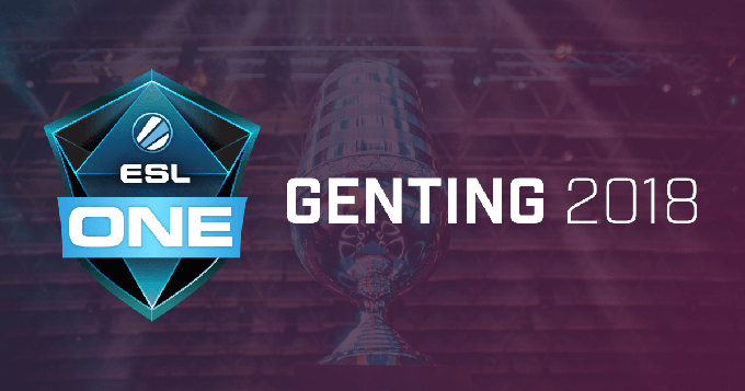 Here are 8 teams invited to ESL One Genting 2018