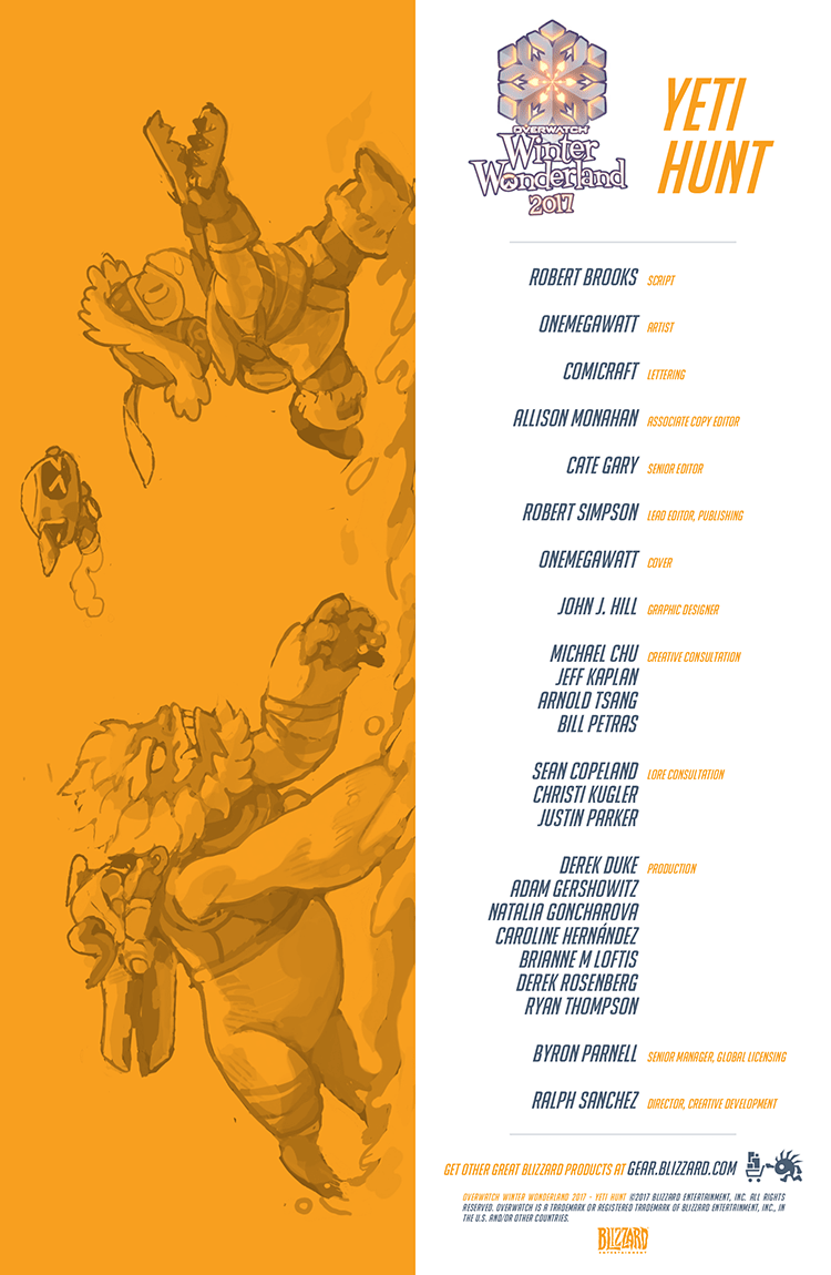 Overwatch Digital Comic: Yeti Hunt - Page 2