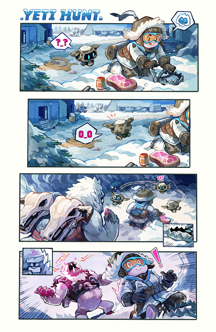 Overwatch Digital Comic: Yeti Hunt - Page 3