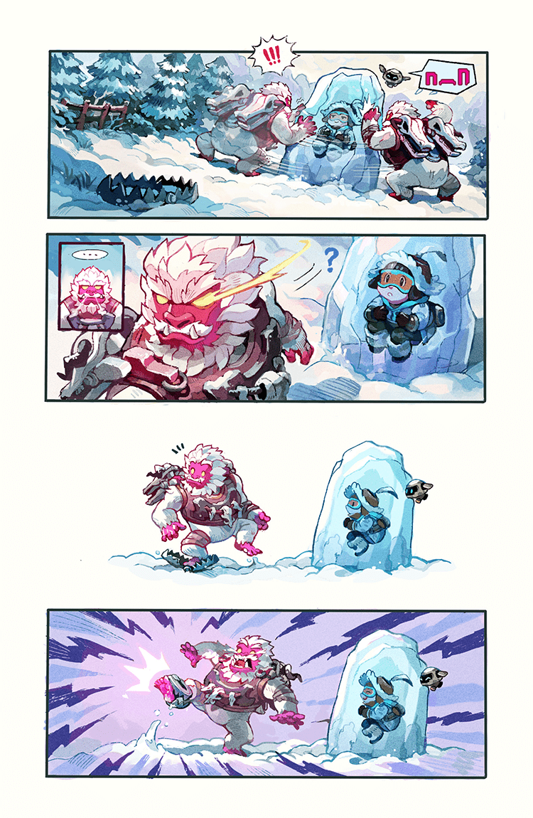 Overwatch Digital Comic: Yeti Hunt - Page 5