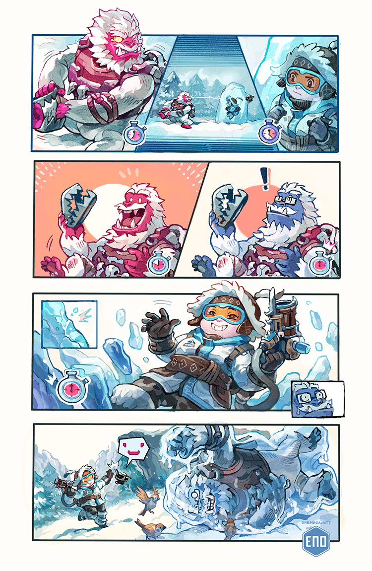 Overwatch Digital Comic: Yeti Hunt - Page 6