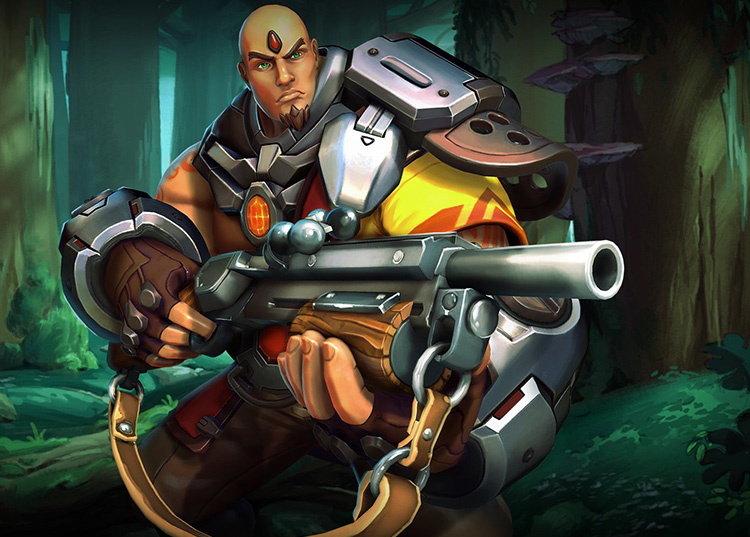 Paladins Strike Champion Profiles: Buck