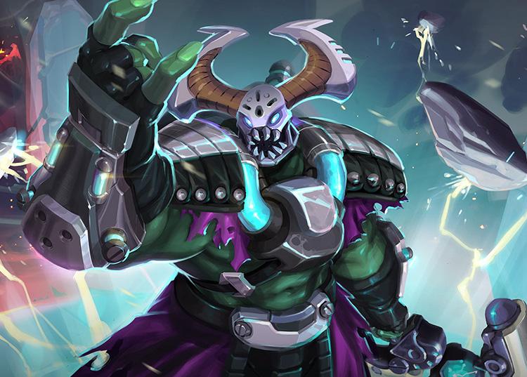 Paladins Strike Champion Profiles: Grohk