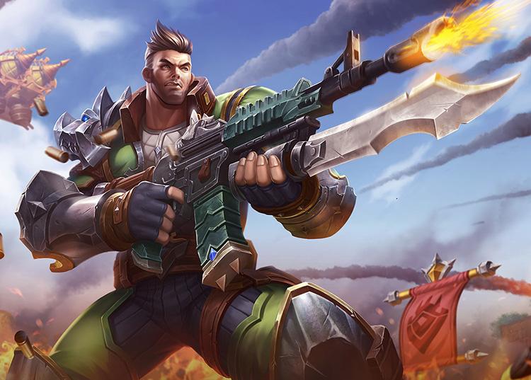 Paladins Strike Champion Profiles: Viktor