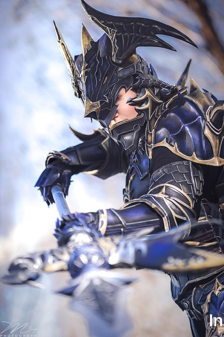Gorgeous Final Fantasy XIV Dragoon Cosplay by mintyfreshtea