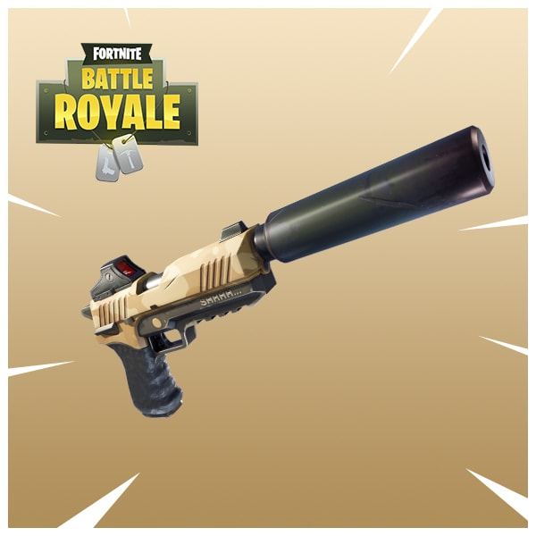 Fortnite Adds Silenced Pistol & Sneaky Silencer Mode
