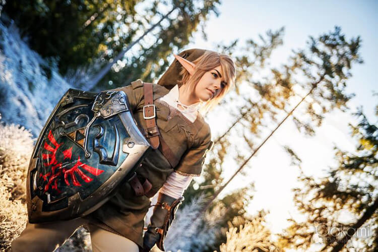 Here are beautiful Legend of Zelda cosplays by Sophie Riis
