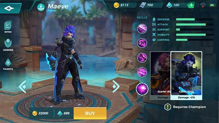 Cyber Ninja Maeve