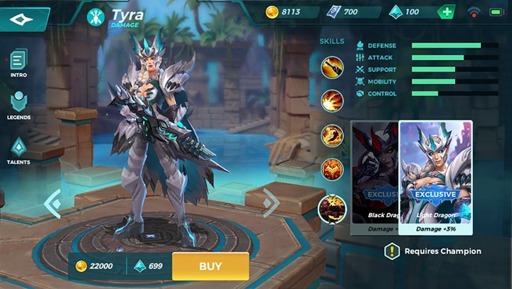 Light Dragon Tyra