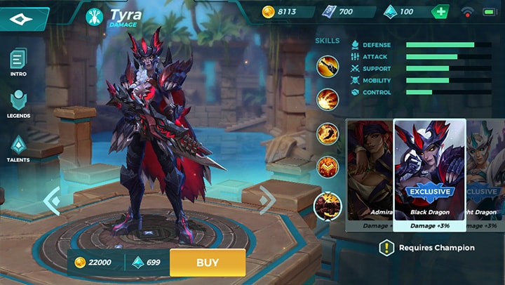 Black Dragon Tyra