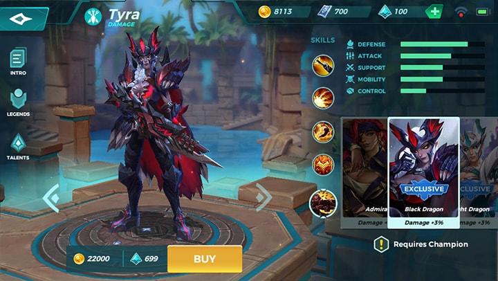Black Dragon Tyra