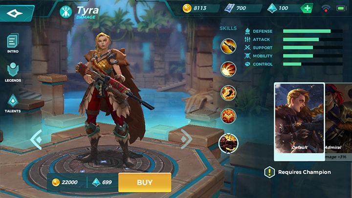Paladins Strike CB 04 Patch adds new champion Tyra