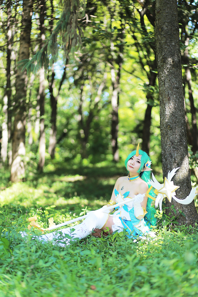 Star Guardian Soraka Cosplay by Korean cosplayer Aleah 7