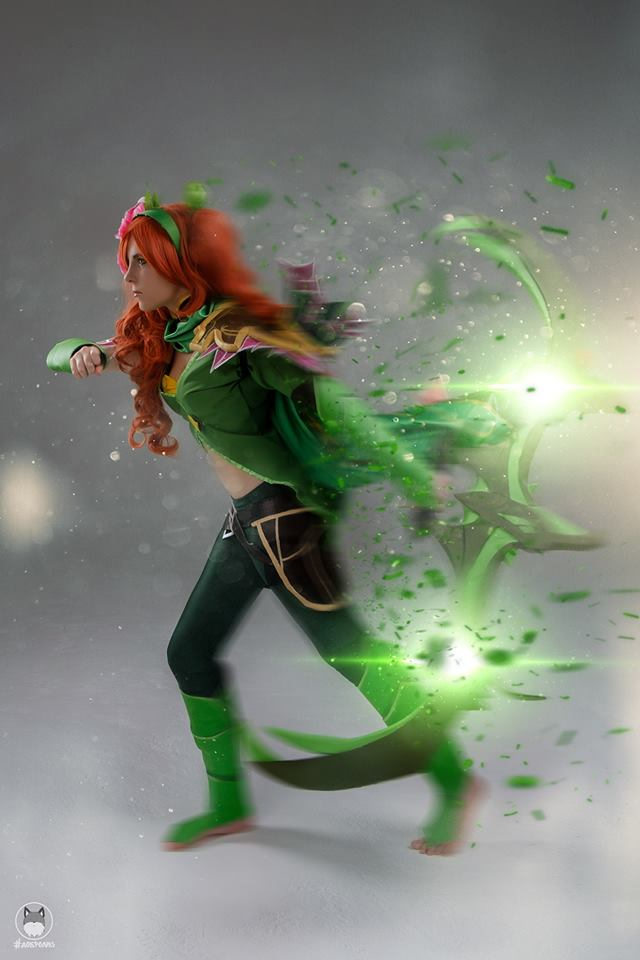 Beautiful Dota 2 cosplays by Russian cosplayers - HTH Gaming