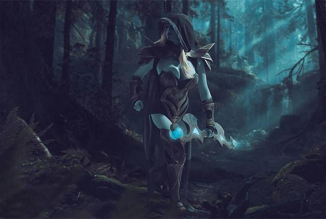 Drow Ranger Cosplay - Dota 2 Cosplay