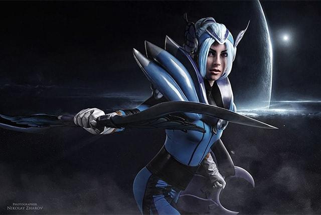 Luna Cosplay - Dota 2 Cosplay