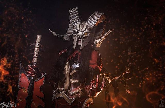 Doom Cosplay - Dota 2 Cosplay