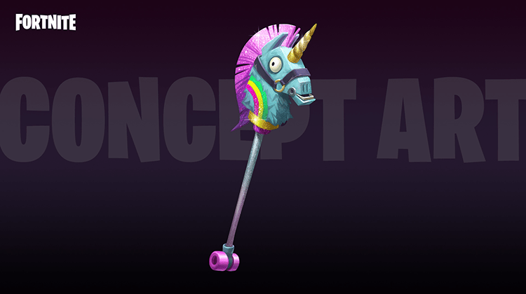 Llama Unicorn Pickaxe for the Brite Bomber