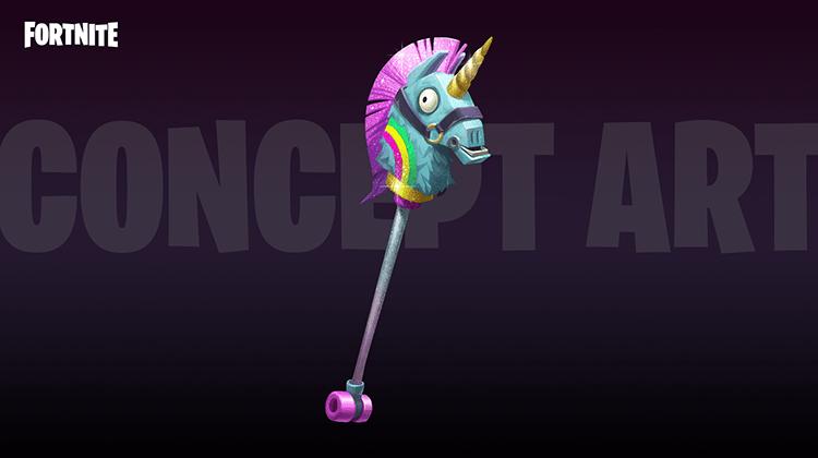 Llama Unicorn Pickaxe for the Brite Bomber