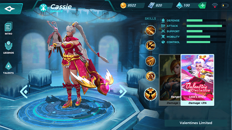 Love's Arrow Cassie